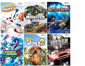 wii games for cheap