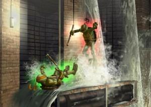 Teenage Mutant Ninja Turtles Smash up Wii game