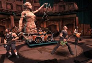 metallica guitar hero wii