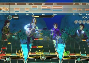 the beatles rock band xbox 360 music game